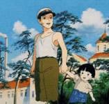 [film] Le Tombeau des Lucioles Hotaru_famille